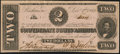 Confederate Notes:1862 Issues, T54 $2 1862 PF-11 Cr. 392R1.. ...