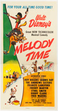 Animation Art:Poster, Melody Time Poster (Walt Disney, 1948)....