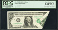 Error Notes:Foldovers, Fr. 1915-F $1 1988A Federal Reserve Note. PCGS Very Choice New 64PPQ.. ...