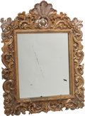 Decorative Arts, Continental:Other , A Louis XV-Style Gesso and Giltwood Mirror, 19th century. 45 incheshigh x 34-1/2 inches wide (114.3 x 87.6 cm). ...