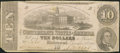 Confederate Notes:1862 Issues, T52 $10 1862 PF-UNL .. ...