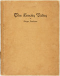 Books:Americana & American History, Birger Sandzen. The Smoky Valley. Reproductions of a Series of Lithographs in the Smokey Valley in Kansas. Kansa...