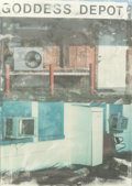 Prints, Robert Rauschenberg (American, 1925-2008). In Transit, from Doctors of the World, 2001. Offset lithograph in colors ...