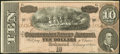 Confederate Notes:1864 Issues, T68 $10 1864 PF-42 Cr. 552.. ...