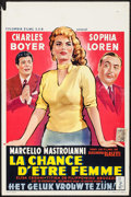 """Movie Posters:Foreign, What a Woman! (Columbia, 1955). Belgian (14"""" X 21""""). Foreign.. ..."""