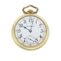 Timepieces:Pocket (post 1900), Illinois Very Fine 23 Jewel 18 Size Bunn Special. ...