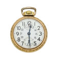 Timepieces:Pocket (post 1900), Waltham 23 Jewel Vanguard Wind Indicator. ...