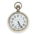 "Timepieces:Pocket (post 1900), Illinois 21 Jewel ""Pennsylvania Special"" Two-Tone Movement PocketWatch. ..."