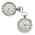 Timepieces:Pocket (post 1900), Illinois & E. Howard 18 Size Pocket Watches. ... (Total: 2Items)