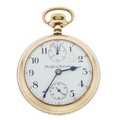 Timepieces:Pocket (post 1900), Rockford 21 Jewel Series 950 Up/Down Wind Indicator. ...