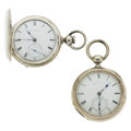 Timepieces:Pocket (pre 1900) , New York & Tremont Watch Co. Key Wind Pocket Watches Runners. ... (Total: 2 Items)