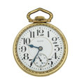 Timepieces:Pocket (post 1900), Elgin 21 Jewel Father Time. ...
