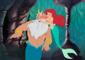 "Animation Art:Limited Edition Cel, The Little Mermaid ""Daddy's Girl"" Ariel Limited Edition Cel#272/500 (Walt Disney, 1998)...."