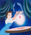 Animation Art:Production Drawing, Color the Leader Cover Illustration Beauty and the Beast - Belle Original Art (Modern Publishers/Walt Disney, c. 1990s...