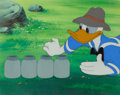 Animation Art:Production Cel, Honey Harvester Donald Duck Production Cel Setup (WaltDisney, 1947)....