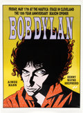 Music Memorabilia:Posters, Bob Dylan Nautica Stage Concert Limited Edition Poster #474/500(ArtRock, 1996)....