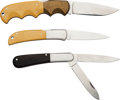 Edged Weapons:Knives, Lot of Al Mar Knives.... (Total: 3 )