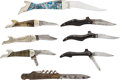 Edged Weapons:Knives, Assorted Lot of Advertising Folding Knives... (Total: 8 )