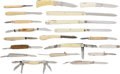 Edged Weapons:Knives, Lot of 20 Vintage Folding Knives.... (Total: 20 )