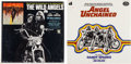 Music Memorabilia:Recordings, Angel Unchained/The Wild Angels Still Sealed Soundtrack LPs(Air A-1037, 1970/Tower T 5043, 1966).... (Total: 2 Items)
