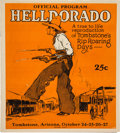 Miscellaneous:Brochures, Tombstone, Arizona: Program for the Inaugural HelldoradoCelebration....