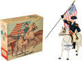 """Non-Sport Cards:Other, Vintage Hartland """"Gen. George Washington"""" With Box & Hang Tag!..."""