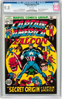 Captain America #155 (Marvel, 1972) CGC NM/MT 9.8 White pages