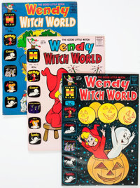 Wendy Witch World File Copy Group of 52 (Harvey, 1963-73) Condition: Average NM-.... (Total: 52 Comic Books)