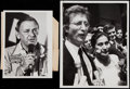 Miscellaneous Collectibles:General, 1970's Frank Sinatra and John Lennon Original News Photographs....