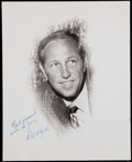 Football Collectibles:Photos, Pete Rozelle Signed Photograph....