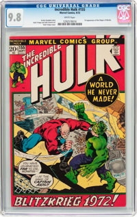 The Incredible Hulk #155 (Marvel, 1972) CGC NM/MT 9.8 White pages