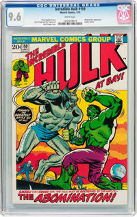 The Incredible Hulk #159 (Marvel, 1973) CGC NM+ 9.6 White pages