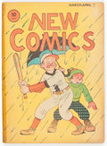 Golden Age (1938-1955):Humor, New Comics #4 (DC, 1936) Condition: FR....