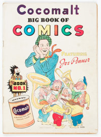 Cocomalt Big Book of Comics #1 (Chesler, 1938) Condition: VG