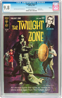 Twilight Zone #7 File Copy (Gold Key, 1964) CGC NM/MT 9.8 Off-white to white pages