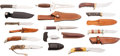 Edged Weapons:Knives, Group Lot of 11 Custom Knives.... (Total: 11 )