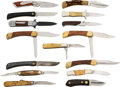 Edged Weapons:Knives, Lot of 15 Assorted Folding Knives.... (Total: 15 )