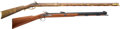 Long Guns:Muzzle loading, Lot of Two Contemporary Percussion Rifles.... (Total: 2 Items)