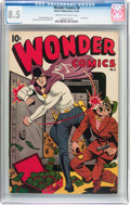 Golden Age (1938-1955):Superhero, Wonder Comics #8 (Better Publications, 1946) CGC VF+ 8.5 Cream to off-white pages....