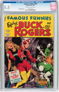 Golden Age (1938-1955):Science Fiction, Famous Funnies #209 (Eastern Color, 1953) CGC FN- 5.5 Off-white towhite pages....