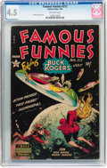 Golden Age (1938-1955):Science Fiction, Famous Funnies #212 (Eastern Color, 1954) CGC VG+ 4.5 Off-whitepages....
