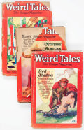 Pulps:Horror, Weird Tales Group of 3 (Popular Fiction, 1928) Condition: AverageFR.... (Total: 3 Items)