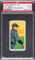 Baseball Cards:Singles (Pre-1930), 1909-11 T206 Cy Young Bare Hand Shows PSA Mint 9....