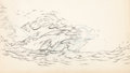 Animation Art:Production Drawing, Sea Scouts Animation Effects Drawings Group of 18 (Walt Disney, 1939).... (Total: 18 Items)