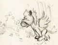 Animation Art:Concept Art, Fantasia Baby Pegasus Concept/Story Drawing (Walt Disney,1940)....