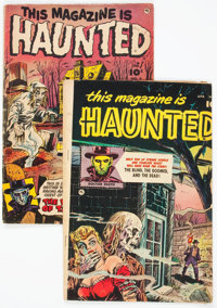 This Magazine Is Haunted #4 and 9 Group (Fawcett Publications, 1952-53).... (Total: 2 Comic Books)