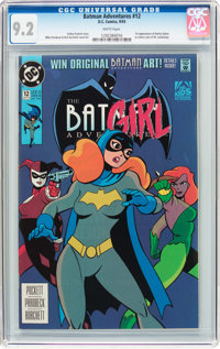 Batman Adventures #12 (DC, 1993) CGC NM- 9.2 White pages