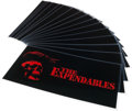 "Movie/TV Memorabilia:Memorabilia, A Group of Production-Related Pieces from ""The Expendables.""..."