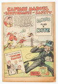 Golden Age (1938-1955):Miscellaneous, Captain Marvel and the Lieutenants of Safety #1 Danger Flies a Kite (Fawcett Publications, 1950) Condition: VG....
