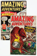 Silver Age (1956-1969):Science Fiction, Amazing Adventures #2 and 3 Group (Marvel, 1961).... (Total: 2 Comic Books)